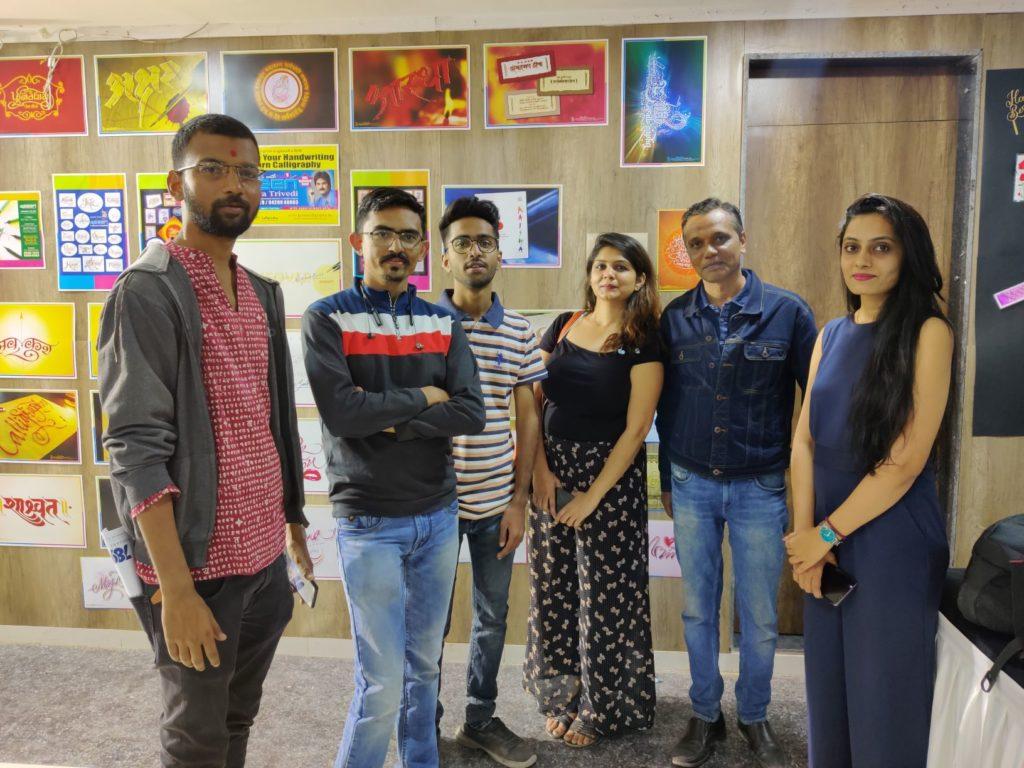 Sunil Pandya – helping keep the tradition of beautiful writing alive in Gujarat