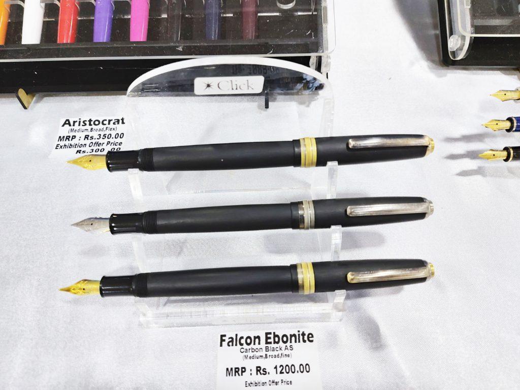 Click Falcon Ebonite Fountain Pens