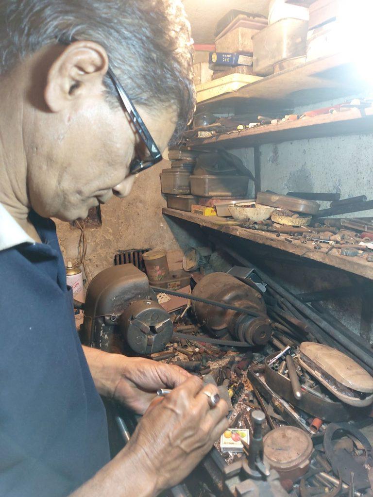 Dilip Basak the Meisterstück of fountain pen restoration
