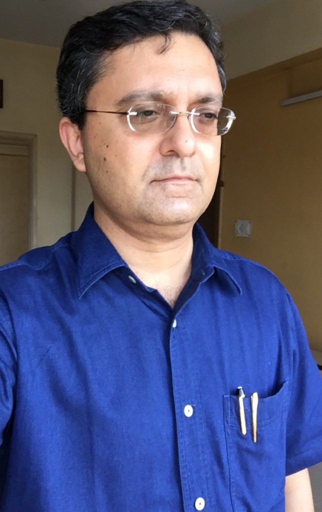 the eye of the Pen - Dr Sougata Halder