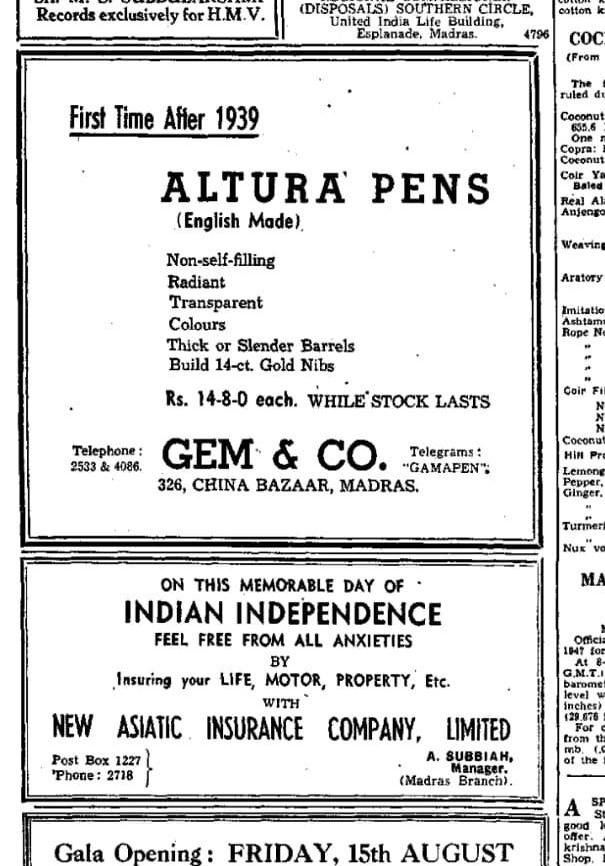 Gama Pens